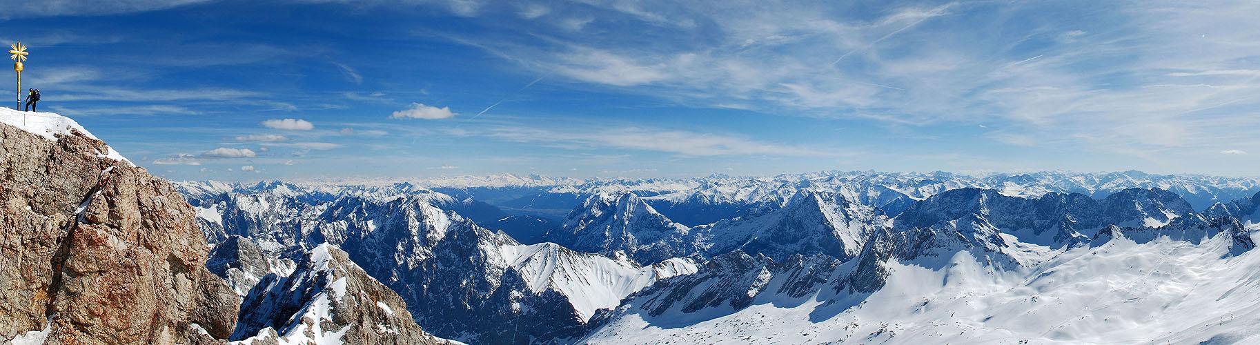 Zugspitze Panorama Alpen-Panoramen - Pano...